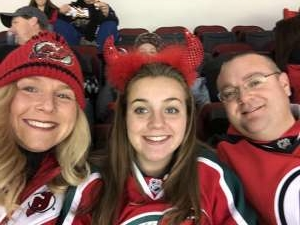 Chuck attended New Jersey Devils vs. Chicago Blackhawks - NHL on Dec 6th 2019 via VetTix