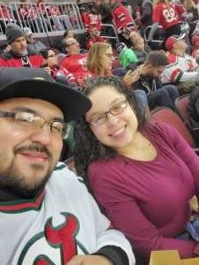 Cesar attended New Jersey Devils vs. Chicago Blackhawks - NHL on Dec 6th 2019 via VetTix