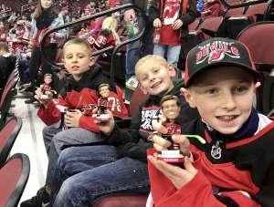 Carolyn attended New Jersey Devils vs. Chicago Blackhawks - NHL on Dec 6th 2019 via VetTix
