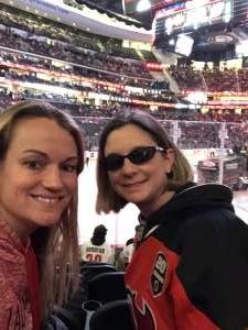 Cynthia attended New Jersey Devils vs. Chicago Blackhawks - NHL on Dec 6th 2019 via VetTix