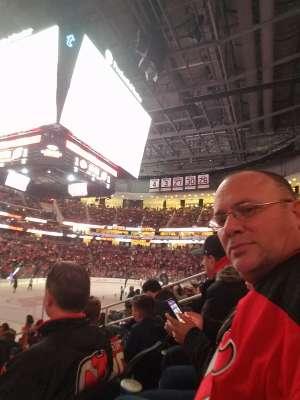 Charles attended New Jersey Devils vs. Chicago Blackhawks - NHL on Dec 6th 2019 via VetTix
