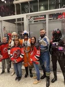 Victor attended New Jersey Devils vs. Chicago Blackhawks - NHL on Dec 6th 2019 via VetTix