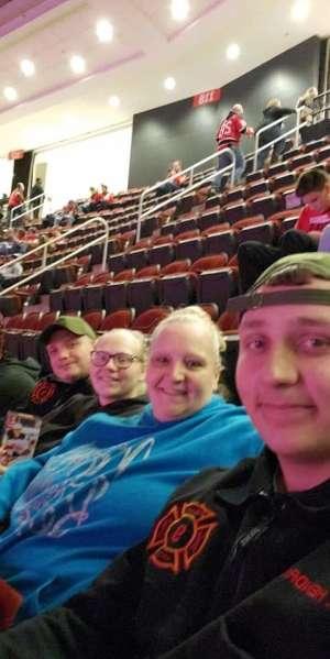 Cody attended New Jersey Devils vs. Chicago Blackhawks - NHL on Dec 6th 2019 via VetTix