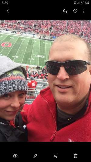 John attended Ohio State Buckeyes vs. Penn State Nittany Lions - NCAA Football on Nov 23rd 2019 via VetTix
