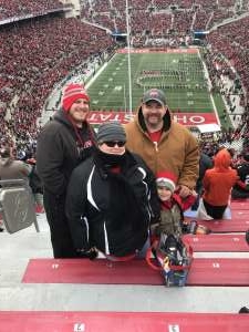 Chad attended Ohio State Buckeyes vs. Penn State Nittany Lions - NCAA Football on Nov 23rd 2019 via VetTix