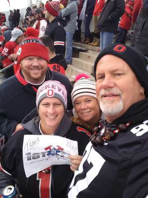 LARRY attended Ohio State Buckeyes vs. Penn State Nittany Lions - NCAA Football on Nov 23rd 2019 via VetTix