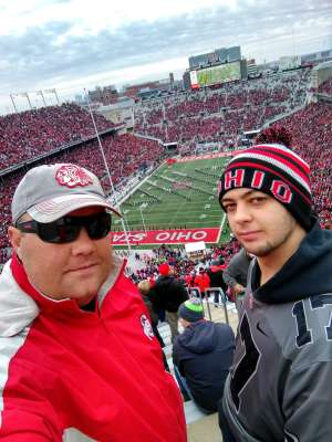 Robert attended Ohio State Buckeyes vs. Penn State Nittany Lions - NCAA Football on Nov 23rd 2019 via VetTix