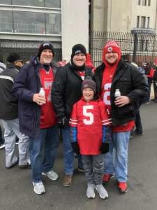 Nate  attended Ohio State Buckeyes vs. Penn State Nittany Lions - NCAA Football on Nov 23rd 2019 via VetTix