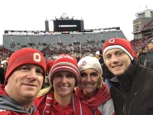Kevin attended Ohio State Buckeyes vs. Penn State Nittany Lions - NCAA Football on Nov 23rd 2019 via VetTix
