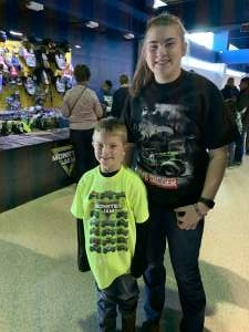 Scott attended Monster Jam on Jan 19th 2020 via VetTix