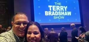 Moises attended Terry Bradshaw Live Show in Atlantic City on Dec 6th 2019 via VetTix