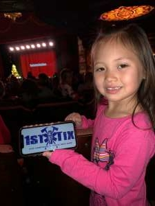 Chantelle attended Disney Junior Holiday Party! on Nov 27th 2019 via VetTix