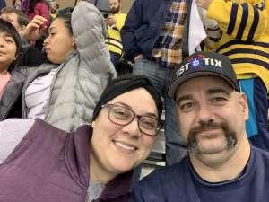 Joel attended University of Michigan Wolverines vs. Penn State - NCAA Hockey on Dec 6th 2019 via VetTix