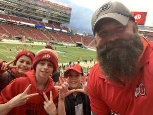 Brandon attended Pac-12 Football Championship Game Presented by 76 on Dec 6th 2019 via VetTix