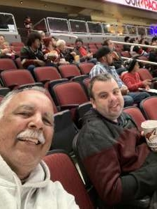 Steve attended Arizona Coyotes vs. Anaheim Ducks - NHL on Nov 27th 2019 via VetTix