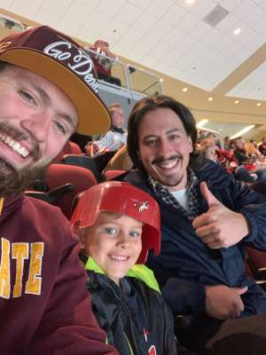 Robert attended Arizona Coyotes vs. Anaheim Ducks - NHL on Nov 27th 2019 via VetTix