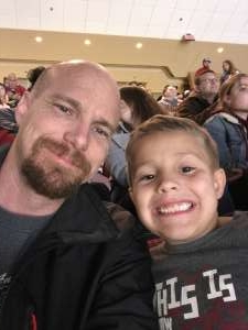 Kyle attended Arizona Coyotes vs. Anaheim Ducks - NHL on Nov 27th 2019 via VetTix