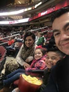 Varn attended Arizona Coyotes vs. Anaheim Ducks - NHL on Nov 27th 2019 via VetTix