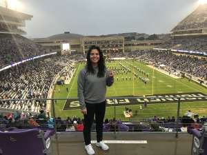 Margarita attended Texas Christian University vs. West Virginia - NCAA Football on Nov 29th 2019 via VetTix