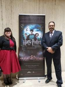 Chad attended Harry Potter and the Prisoner of Azkaban (tm) in Concert on Nov 30th 2019 via VetTix