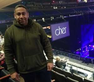 Marcus attended Cher: Here We Go Again Tour on Dec 4th 2019 via VetTix