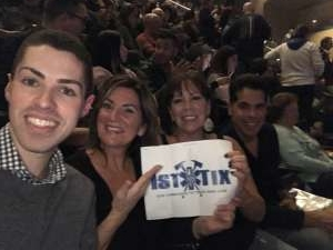 Joseph attended Cher: Here We Go Again Tour on Dec 4th 2019 via VetTix