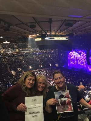 jeff attended Cher: Here We Go Again Tour on Dec 4th 2019 via VetTix
