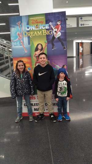 Courtany  attended Disney on Ice Presents Dream Big on Mar 5th 2020 via VetTix