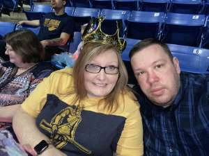 Floyd attended Disney on Ice Presents Dream Big on Mar 5th 2020 via VetTix