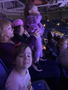 Aaron attended Disney on Ice Presents Dream Big on Mar 5th 2020 via VetTix