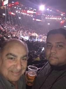 Sergio attended Premier Boxing Champions: Jermall Charlo vs. Dennis Hogan on Dec 7th 2019 via VetTix