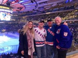 Pete attended New York Rangers vs. Vegas Golden Knights - NHL on Dec 2nd 2019 via VetTix
