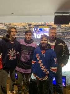 Anthony attended New York Rangers vs. Vegas Golden Knights - NHL on Dec 2nd 2019 via VetTix