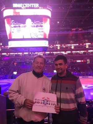 Randy attended Florida Panthers vs. Minnesota Wild - NHL on Dec 3rd 2019 via VetTix