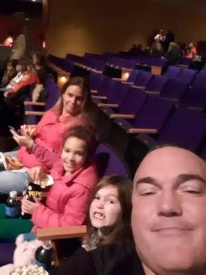 Jason attended Cirque Dreams Holidaze (touring) on Dec 6th 2019 via VetTix