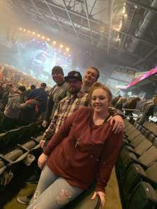 John attended Five Finger Death Punch on Dec 5th 2019 via VetTix
