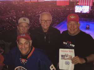 David K attended New York Islanders vs. Vegas Golden Knights - NHL on Dec 5th 2019 via VetTix