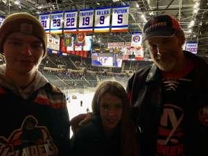 Erik attended New York Islanders vs. Vegas Golden Knights - NHL on Dec 5th 2019 via VetTix