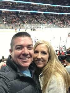 Nicholas attended Anaheim Ducks vs. Washington Capitals - NHL on Dec 6th 2019 via VetTix