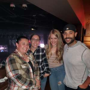 Ashley attended Gary Allan on Dec 6th 2019 via VetTix