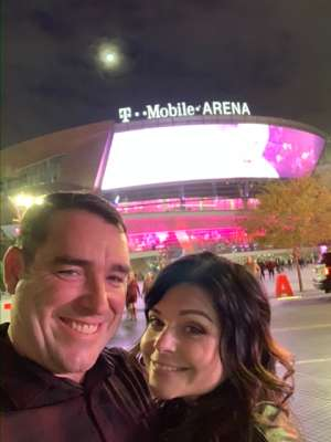 Kris attended George Strait - Live in Concert on Dec 6th 2019 via VetTix