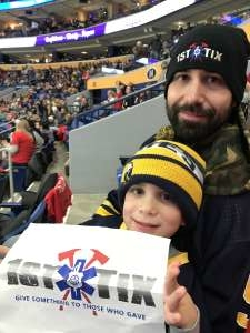 Click To Read More Feedback from Buffalo Sabres vs. Nashville Predators - NHL