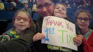Sean attended Paw Patrol Live! The Great Pirate Adventure - Presented by Vstar Entertainment on Dec 30th 2019 via VetTix