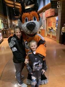Bridget attended New England Black Wolves vs. Philadelphia Wings - National Lacrosse League on Jan 18th 2020 via VetTix