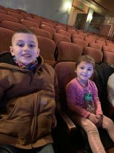 D attended Nick Jr. Live! Move to the Music - Morning Show on Jan 19th 2020 via VetTix