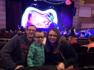 Stephen attended Trolls Live! on Jan 19th 2020 via VetTix