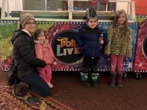 Andrew attended Trolls Live! on Jan 19th 2020 via VetTix