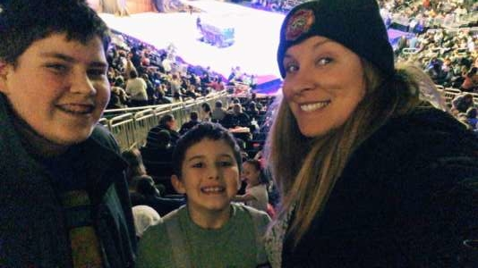 Jesi attended Disney on Ice Presents Dream Big on Feb 13th 2020 via VetTix