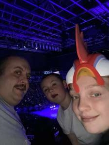 Jay attended Disney on Ice Presents Dream Big on Feb 13th 2020 via VetTix
