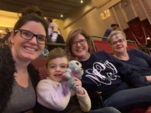 Mike attended Nick Jr. Live! Move to the Music on Jan 11th 2020 via VetTix